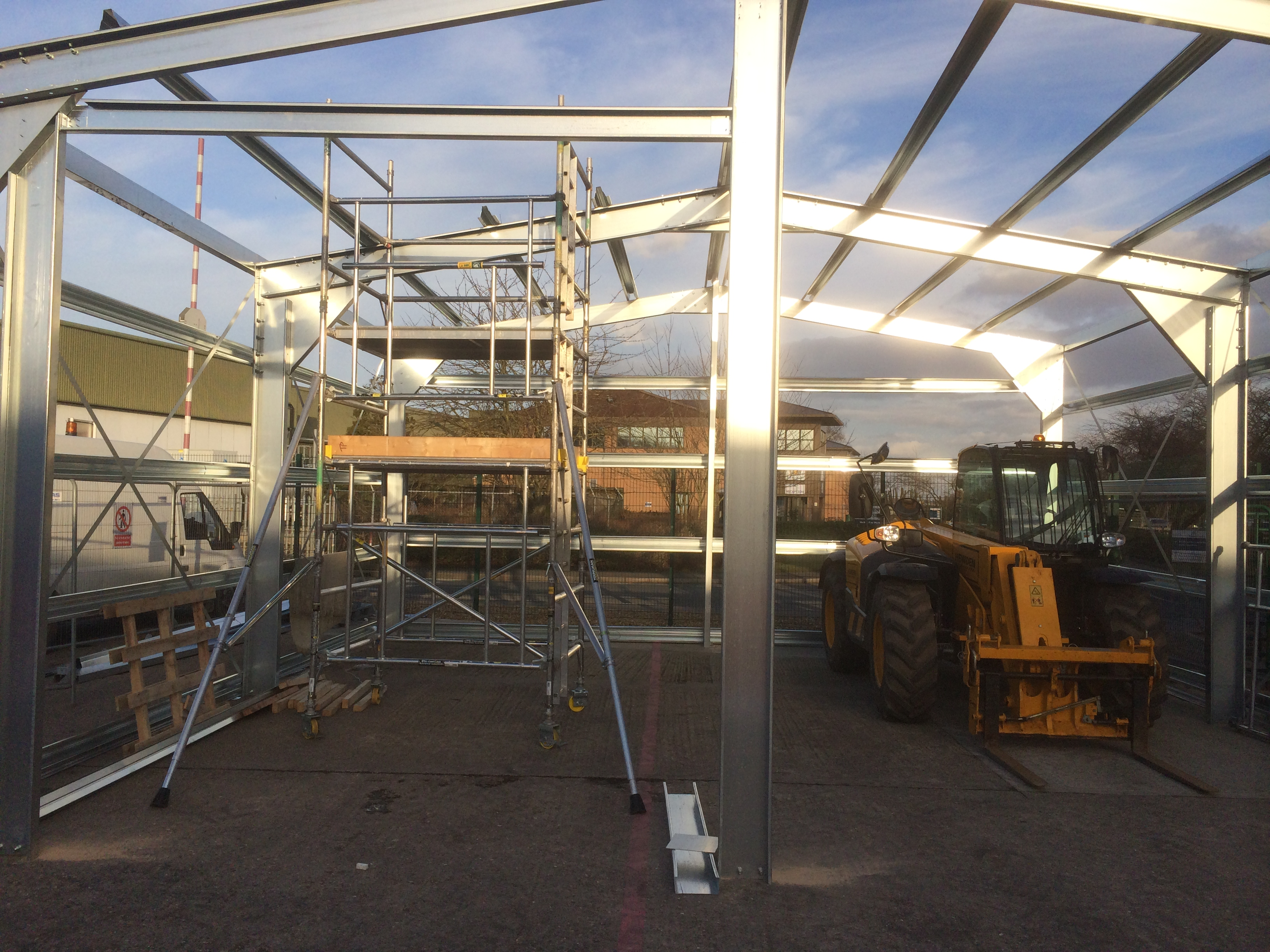 Do you need to carryout structural alterations to your existing steel building ? We are able to discuss and find a solution for the alterations you would like to carry out on your existing steel frame or portal framed buildings.