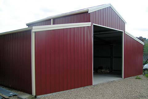 We aim to create durable equestrian buildings.  Has your current steel equestrian building been destroyed by bad weather or does it need replacing with a new equestrian building? P R C Steel Buildings are experts at designing and producing a range of equestrian buildings for customers throughout Lincolnshire.