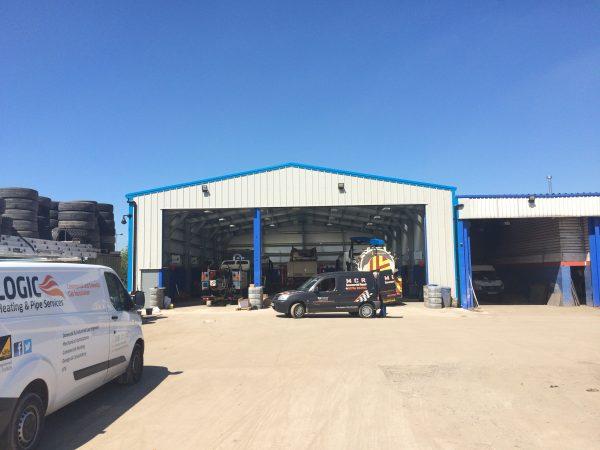 steel frames commercial vehicle workshop